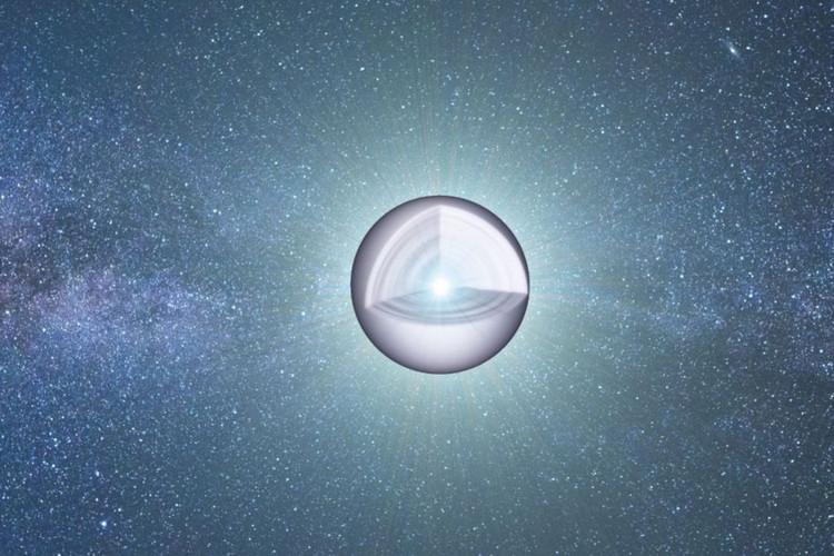 Kernen i en hvid dværg